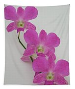 Pink Orchids 1 Tapestry