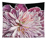 Pink Peony Tapestry