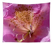 Pink Rhododendron Tapestry