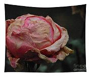 Pink Roses In The First Snow I I I Tapestry