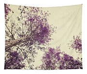 Pink Trees Tapestry