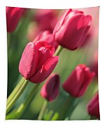 Pink Tulip Dream Tapestry