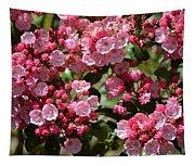 Pink Umbrellas Tapestry