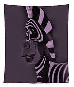 Pink Zebra Tapestry