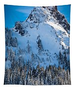 Pinnacle Peak Winter Glory Tapestry