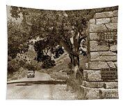Pinnacles National Monument California Circa 1946 Tapestry