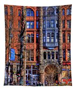 Pioneer Square No.1 Tapestry