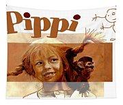 Pippi Longstocking - Fan Version Tapestry
