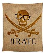 Pirate Math Nerd Humor Poster Art Tapestry
