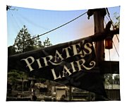 Pirates Lair Signage Frontierland Disneyland Tapestry