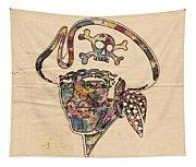 Pittsburgh Pirates Logo Vintage Tapestry
