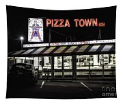 Pizza Town Tapestry