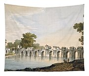 Pl. 34 A View Of The Bridge Tapestry