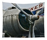 Plane Check Your Engine Tapestry