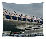 Plane Fly Eastern Air Lines Tapestry