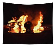 Plane Heats Up Tapestry