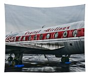 Plane Obsolete Capital Airlines Tapestry
