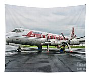 Plane Props On Capital Airlines Tapestry