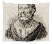 Plato From Crabbes Historical Dictionary Tapestry