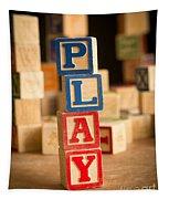 Play - Alphabet Blocks Tapestry