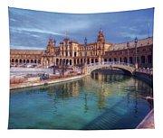 Plaza De Espana Seville II Tapestry
