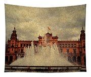 Plaza De Espana. Seville Tapestry