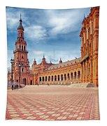 Plaza De Espana Seville Tapestry