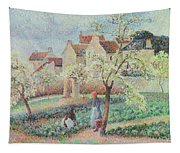 Plum Trees In Flower Tapestry