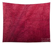 Plush Red Texture Tapestry