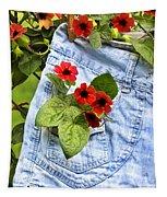 Pocket Full Of Posies Tapestry
