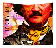 Poe Industries Steampunk Machines Patent Pending 20140518 Square V3 Tapestry