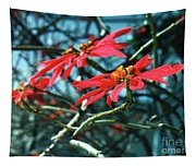 Poinsettia Africa Tapestry