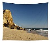 Point Dume At Zuma Beach Tapestry