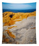 Point Lobos Abstract 14 Tapestry