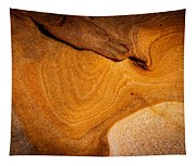 Point Lobos Abstract 9 Tapestry