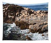 Point Lobos Coast 2 Tapestry