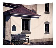 Point Wilson Lighthouse Bench Tapestry