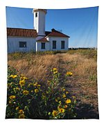 Point Wilson Lighthouse Tapestry