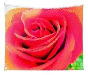 Polka Dot Beautiful Rose Tapestry