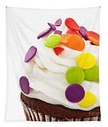 Polka Dot Cupcake Tapestry by Andee Design