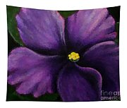 Polka Dot Purple African Violet Tapestry