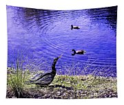 Pond Days Tapestry