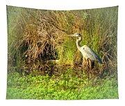 Pond Wildlife Tapestry