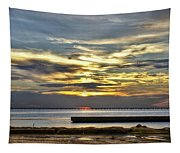Pontchartrain Sunset Tapestry
