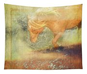 Pony In The Grasses Tapestry