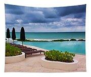 Pool At Rosewood Mayakoba Tapestry