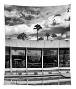 Pool Storm Palm Springs Tapestry