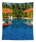 Pool Time Tapestry