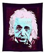 Pop Art Einstein No 3 Tapestry