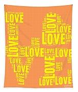 Pop Love 3 Tapestry